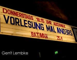 Batman: The Dark Knight in der Vorlesung mal anders