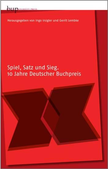 """Projekt """"Der Deutsche Buchpreis"""" (Gerrit Lembke)"""