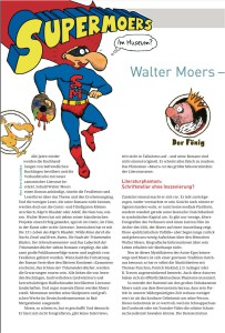 Gerrit Lembke über Walter Moers im Literaturblatt (2013)